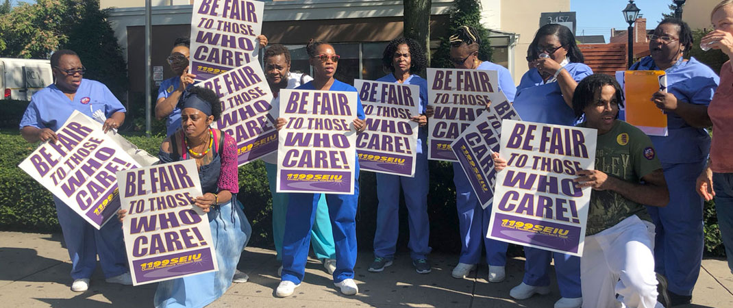 Support Nursing Home Workers!