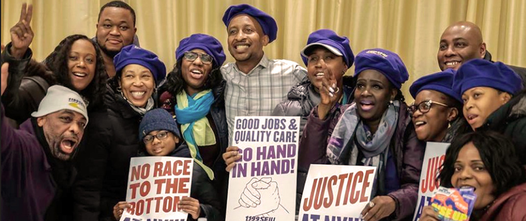 NYU Workers And Supporters Demand Justice!