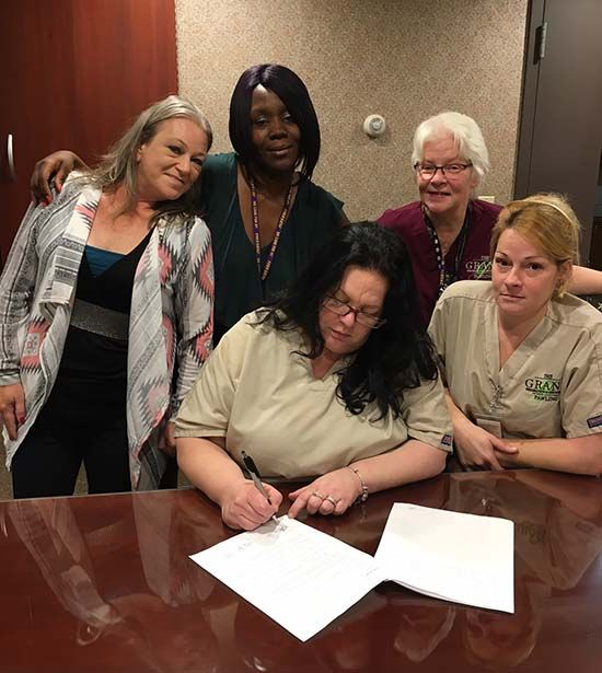 1199 Members At The Grand At Pawling Win First Contract With The