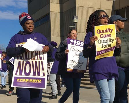 Staffing High Turnover Drive Contract Fights