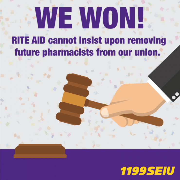 We Won Rite Aid Cannot Insist Upon Removing Future Pharmacists From